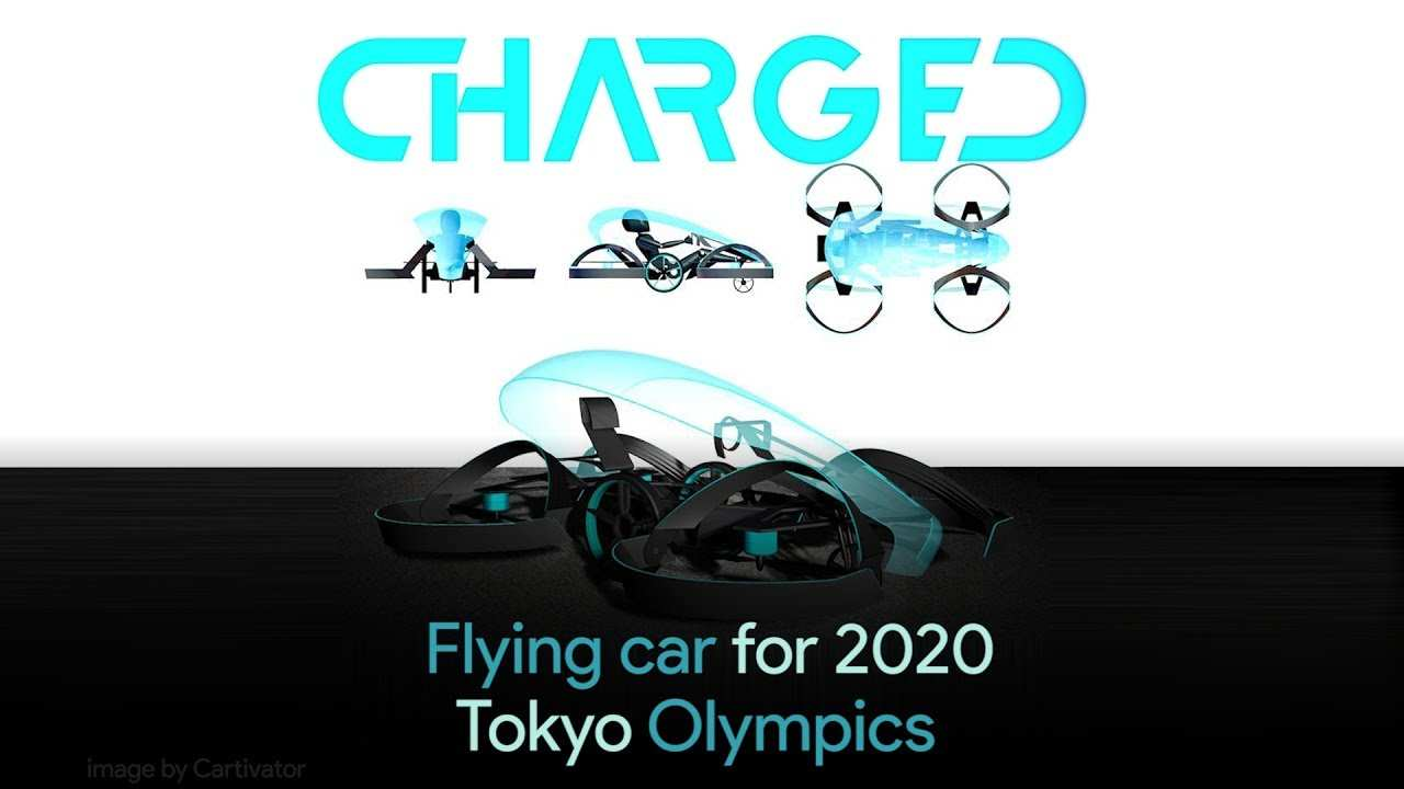 37 A Toyota Olympics 2020 New Concept