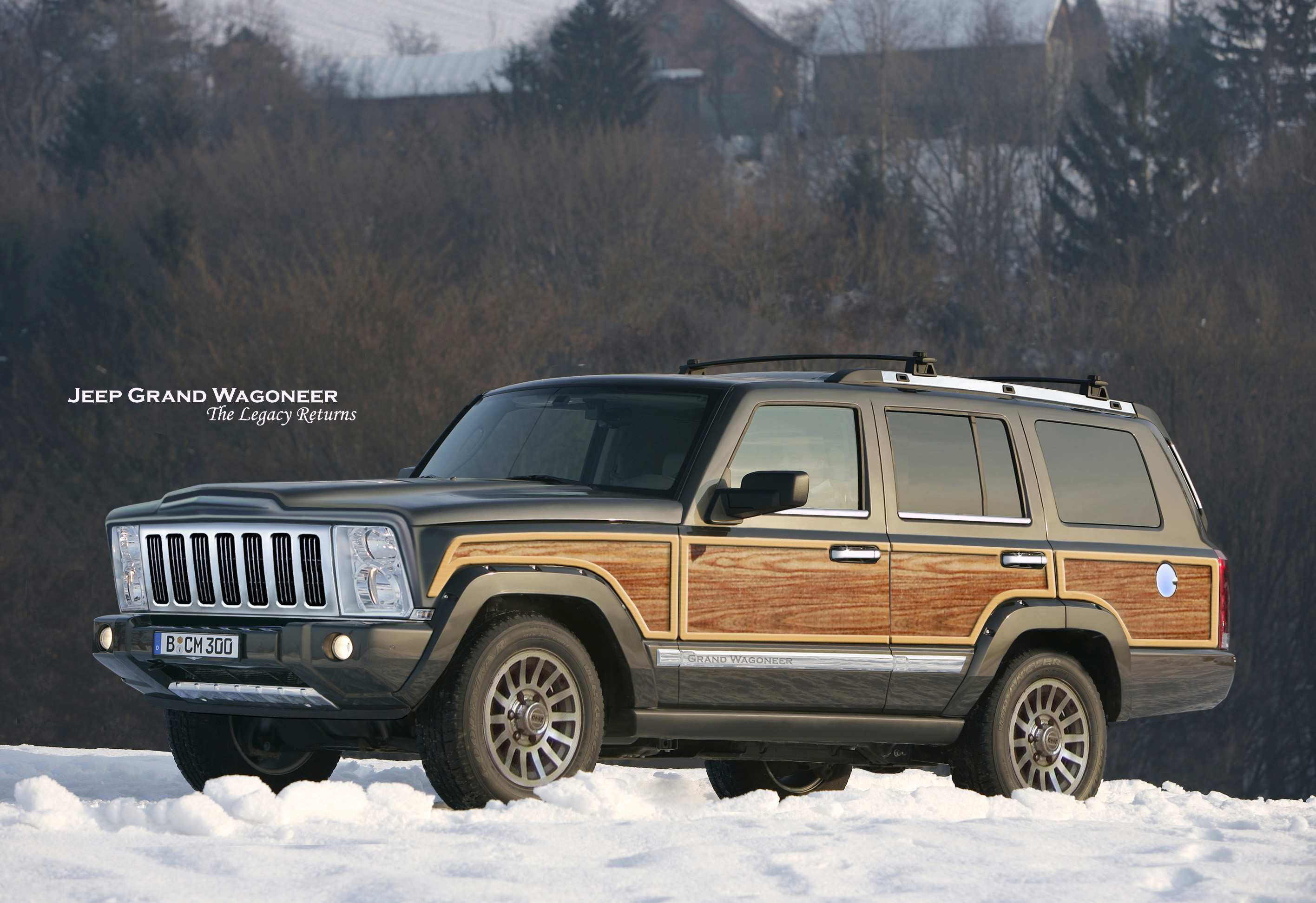 37 Best 2019 The Jeep Grand Wagoneer Concept And Review