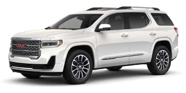 37 New 2020 GMC Acadia Interior