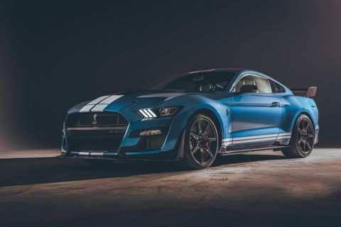 37 New Ford Gt500 Shelby 2020 Concept