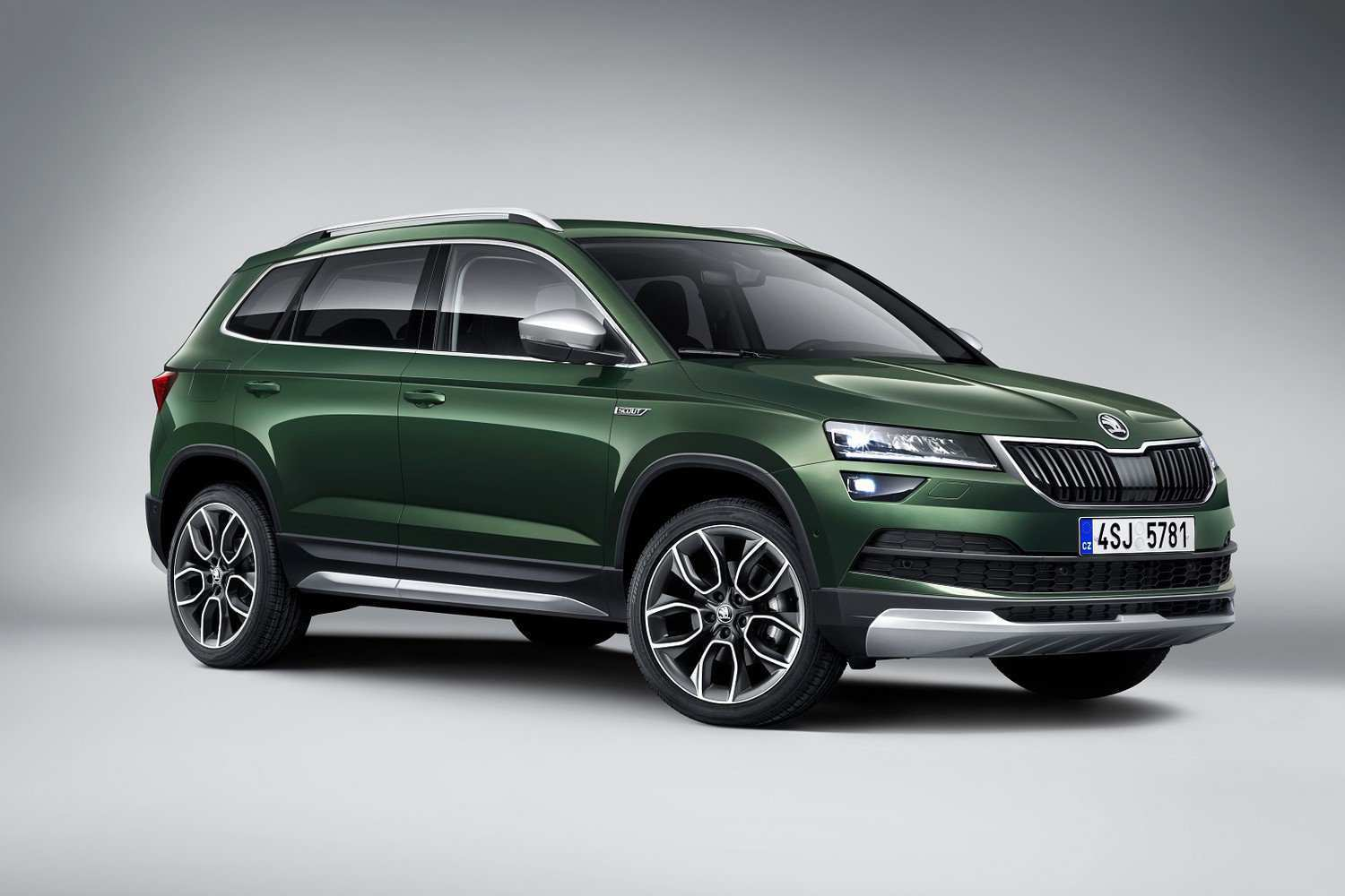 37 The 2019 Skoda Scout Style
