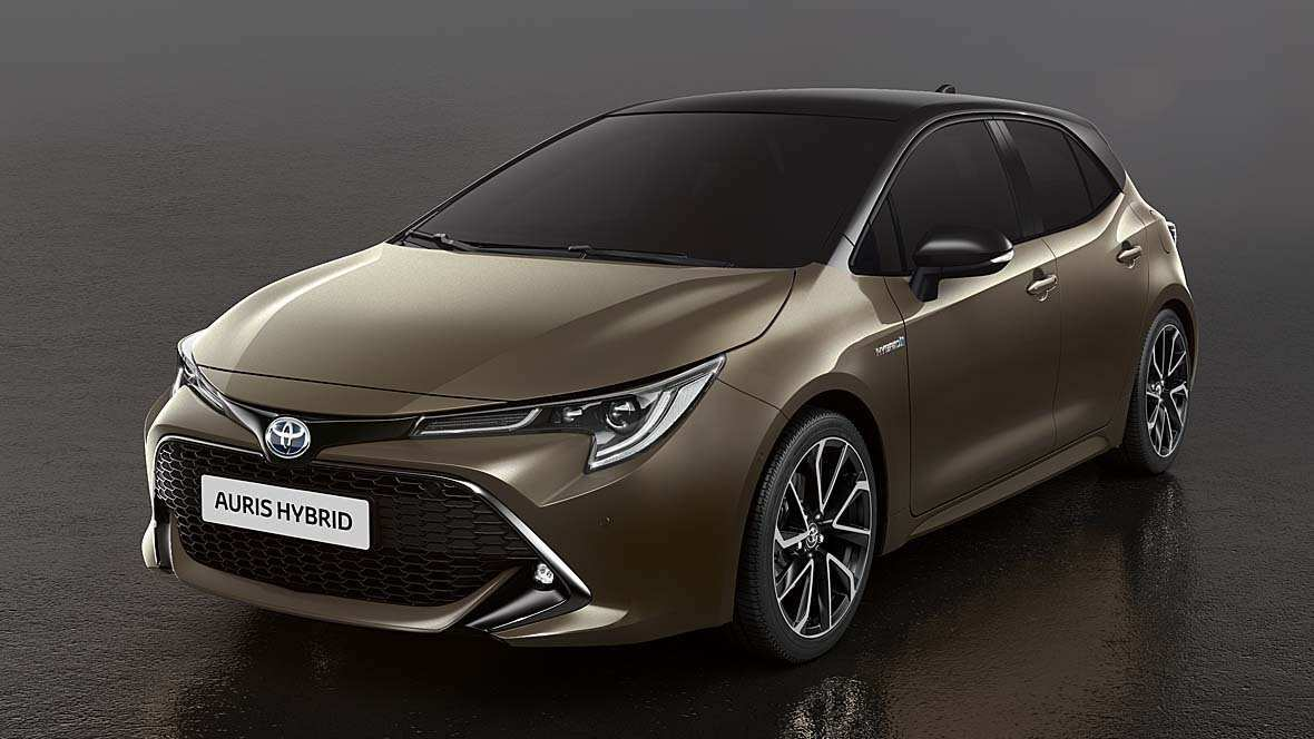 37 The 2019 Toyota Auris New Concept
