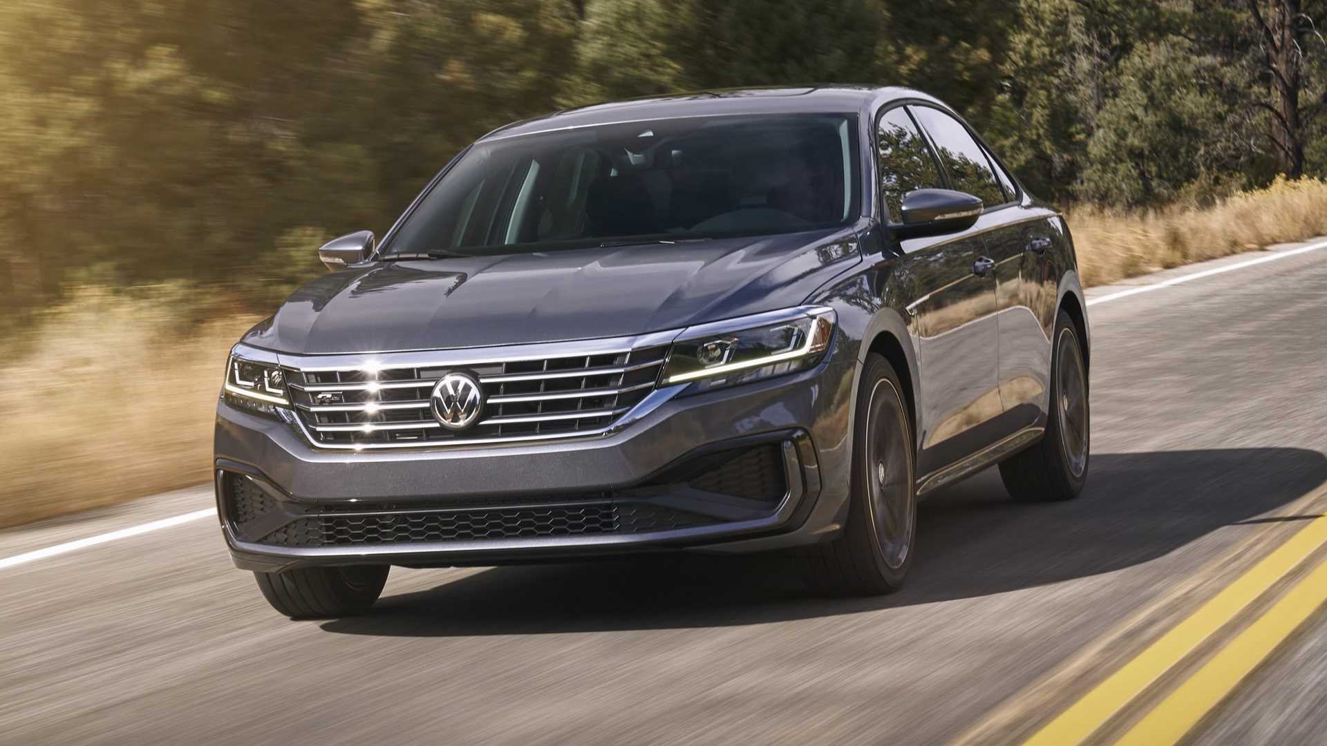 37 The 2020 VW Passat Tdi Exterior