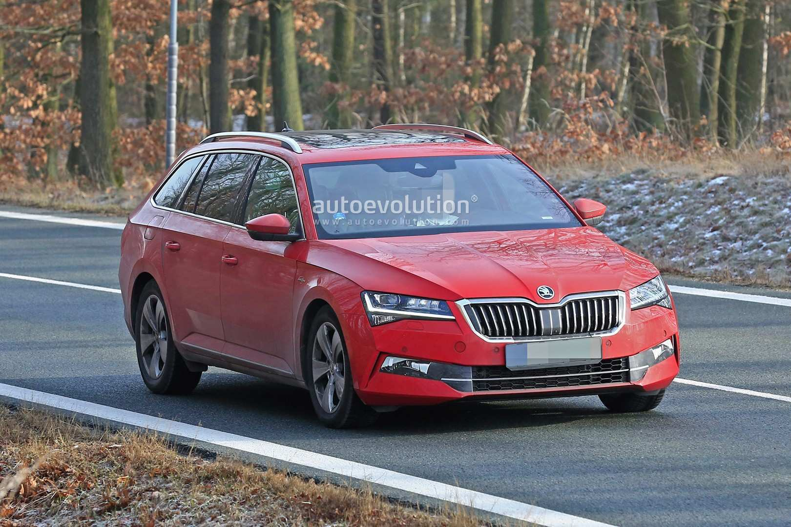 37 The Best 2020 The Spy Shots Skoda Superb Configurations