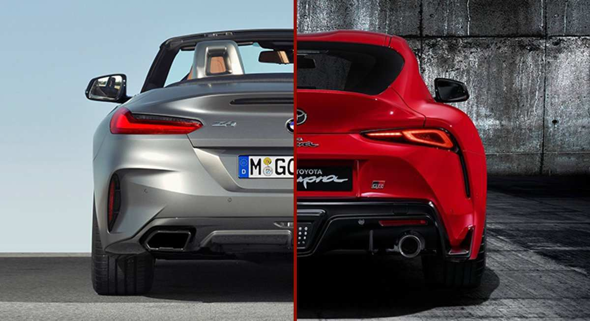 37 The Best 2020 Toyota Supra Vs BMW Z4 Style
