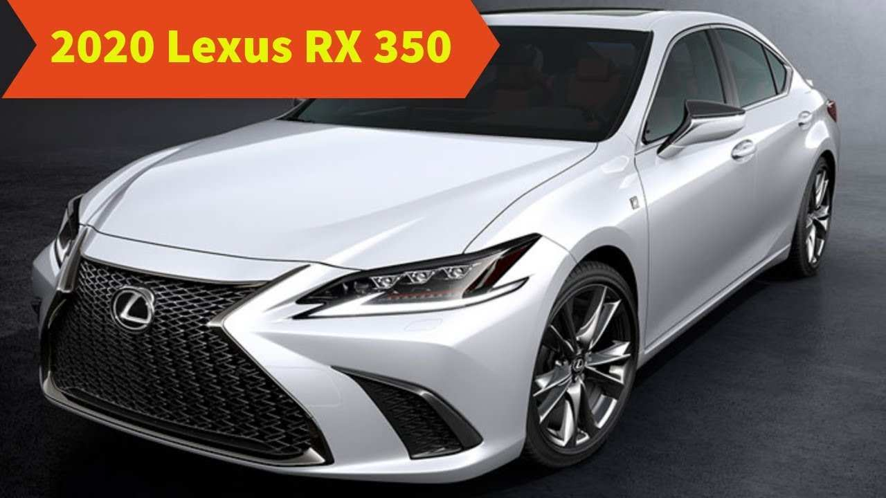 37 The Lexus Rx 2020 Model Redesign And Concept