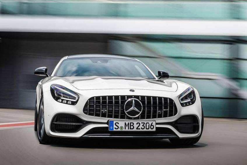 37 The Mercedes 2019 Amg Gt Spy Shoot