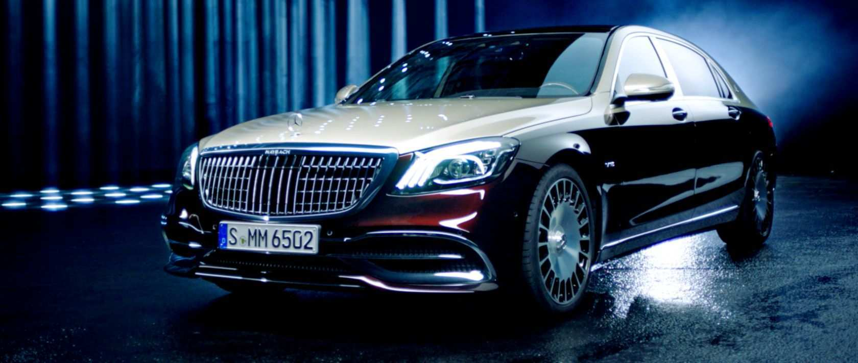 37 The Mercedes S650 Maybach 2019 History
