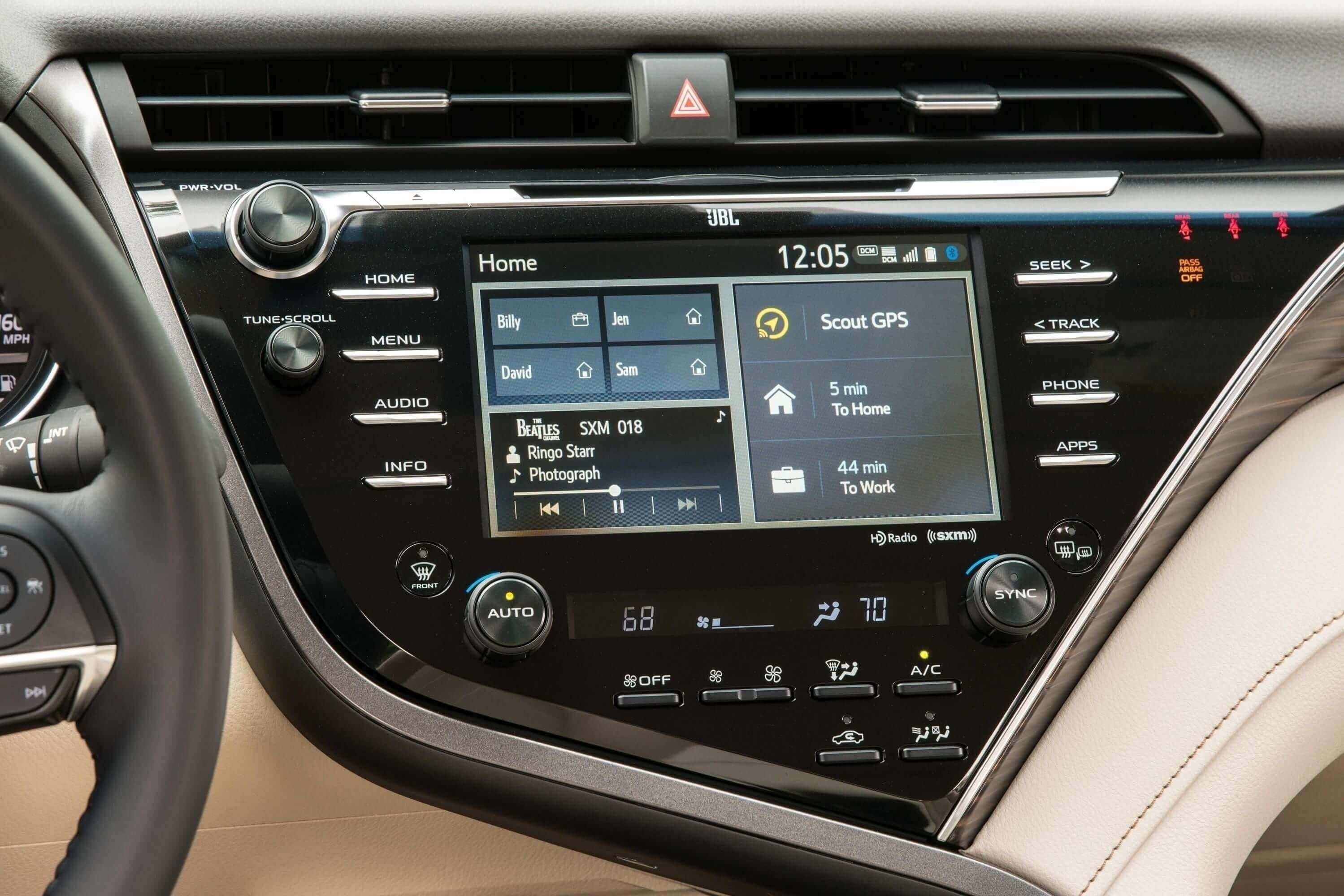37 The Toyota Kluger 2020 Interior Ratings