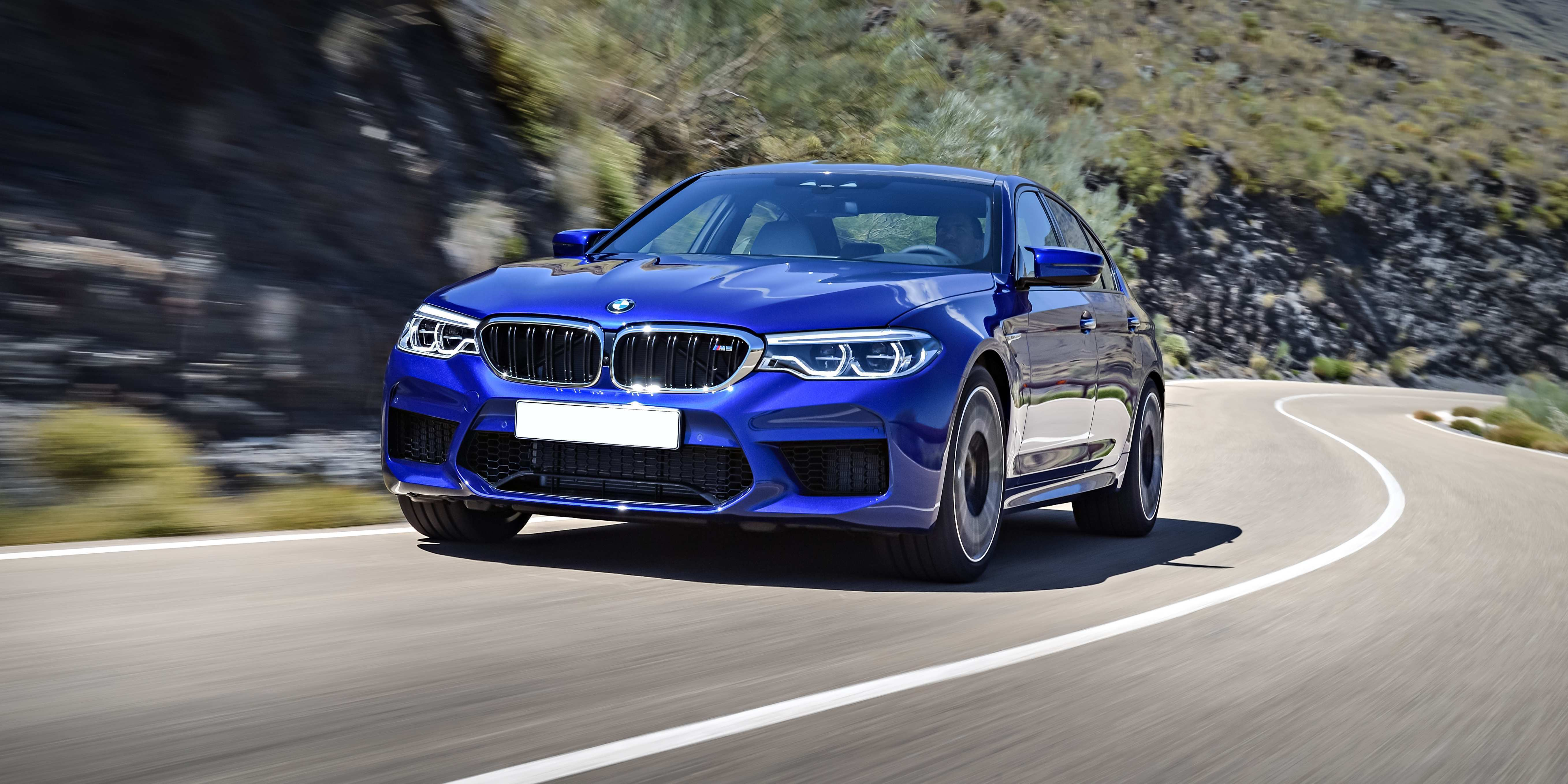 38 A 2019 BMW M5 Get New Engine System Performance