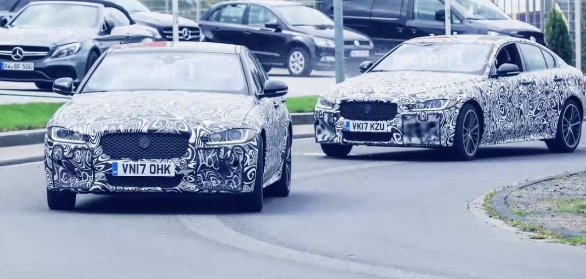 38 A 2019 Jaguar Xe Svr Spy Shoot