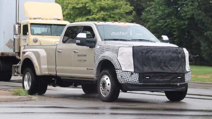 38 A 2019 Spy Shots Ford F350 Diesel Images
