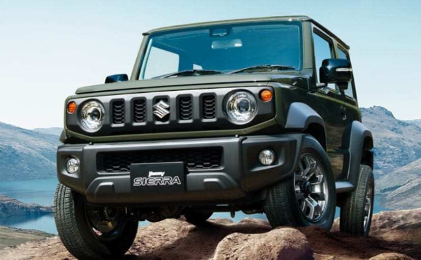 38 A 2019 Suzuki Jimny Model Configurations