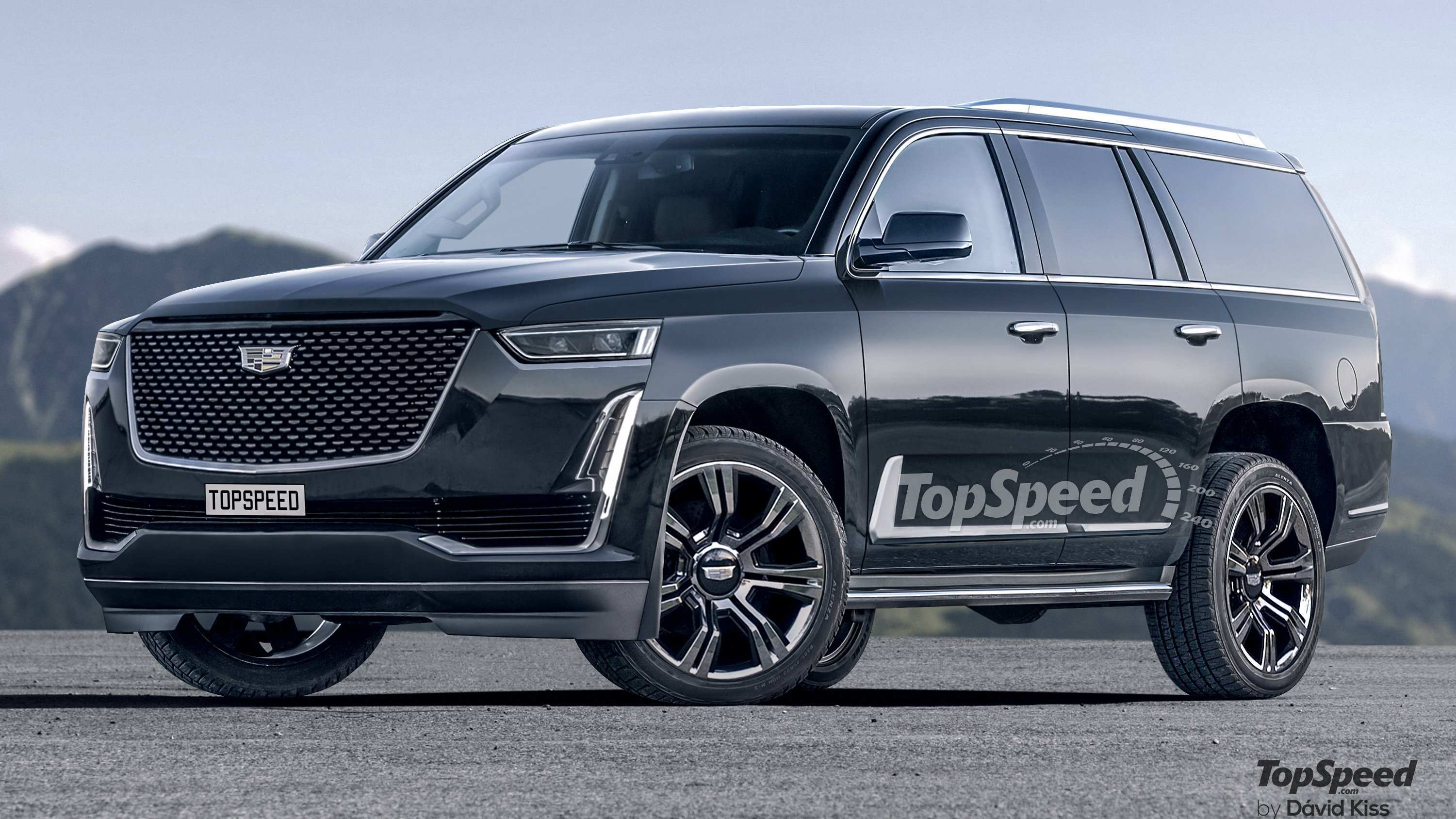 38 A 2020 Cadillac Escalade Wallpaper