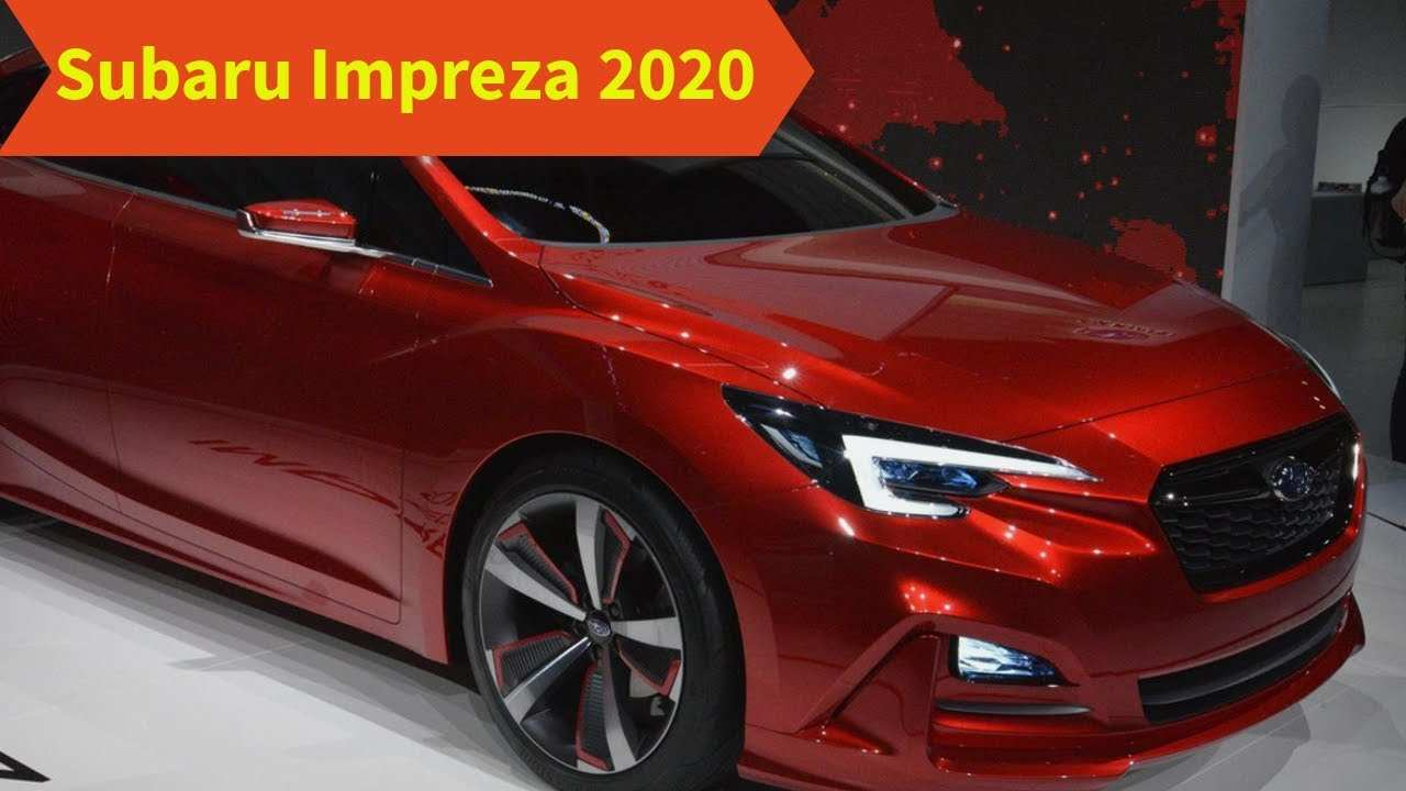38 A 2020 Subaru Impreza Performance And New Engine