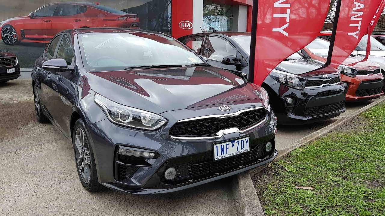 38 A Kia Cerato 2019 Interior Spy Shoot