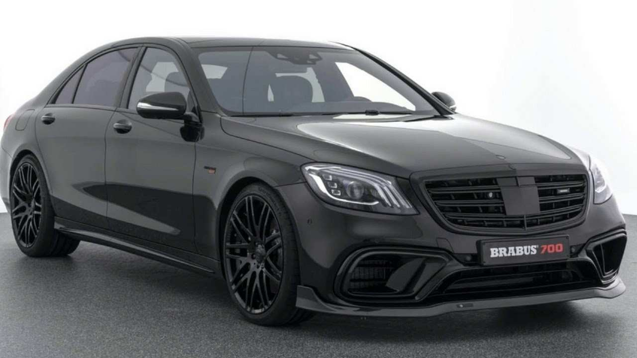 38 A Mercedes Brabus 2019 Spy Shoot