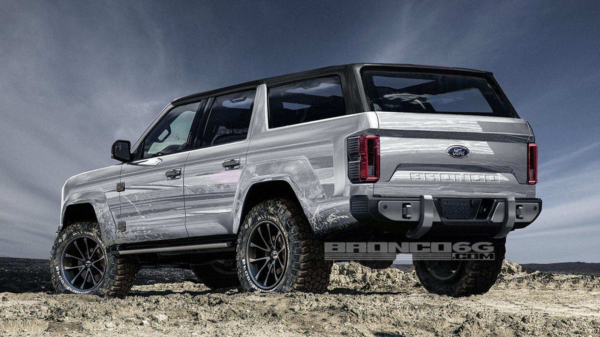 38 All New Ford Bronco 2020 Release Date New Model And Performance
