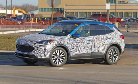 38 New 2020 Ford Escape Research New