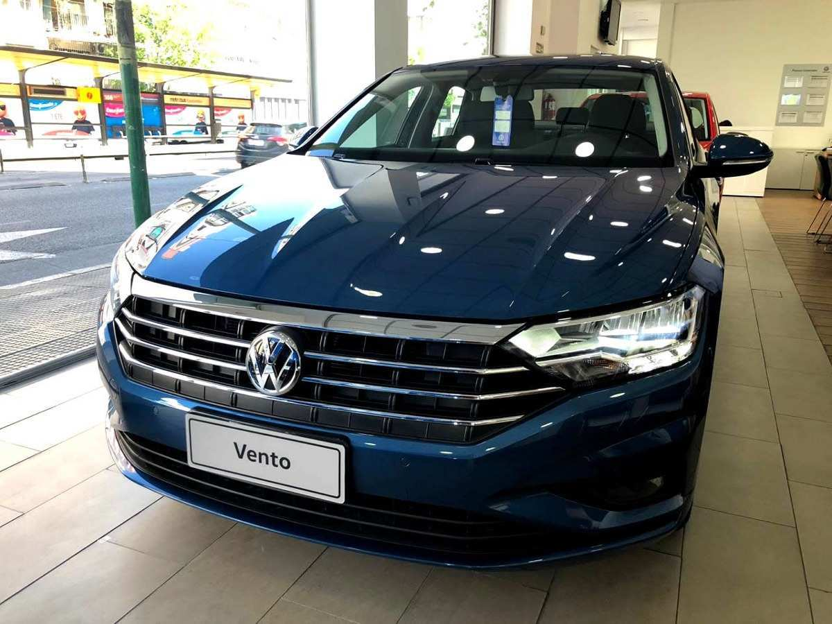 38 New Vento Volkswagen 2019 First Drive