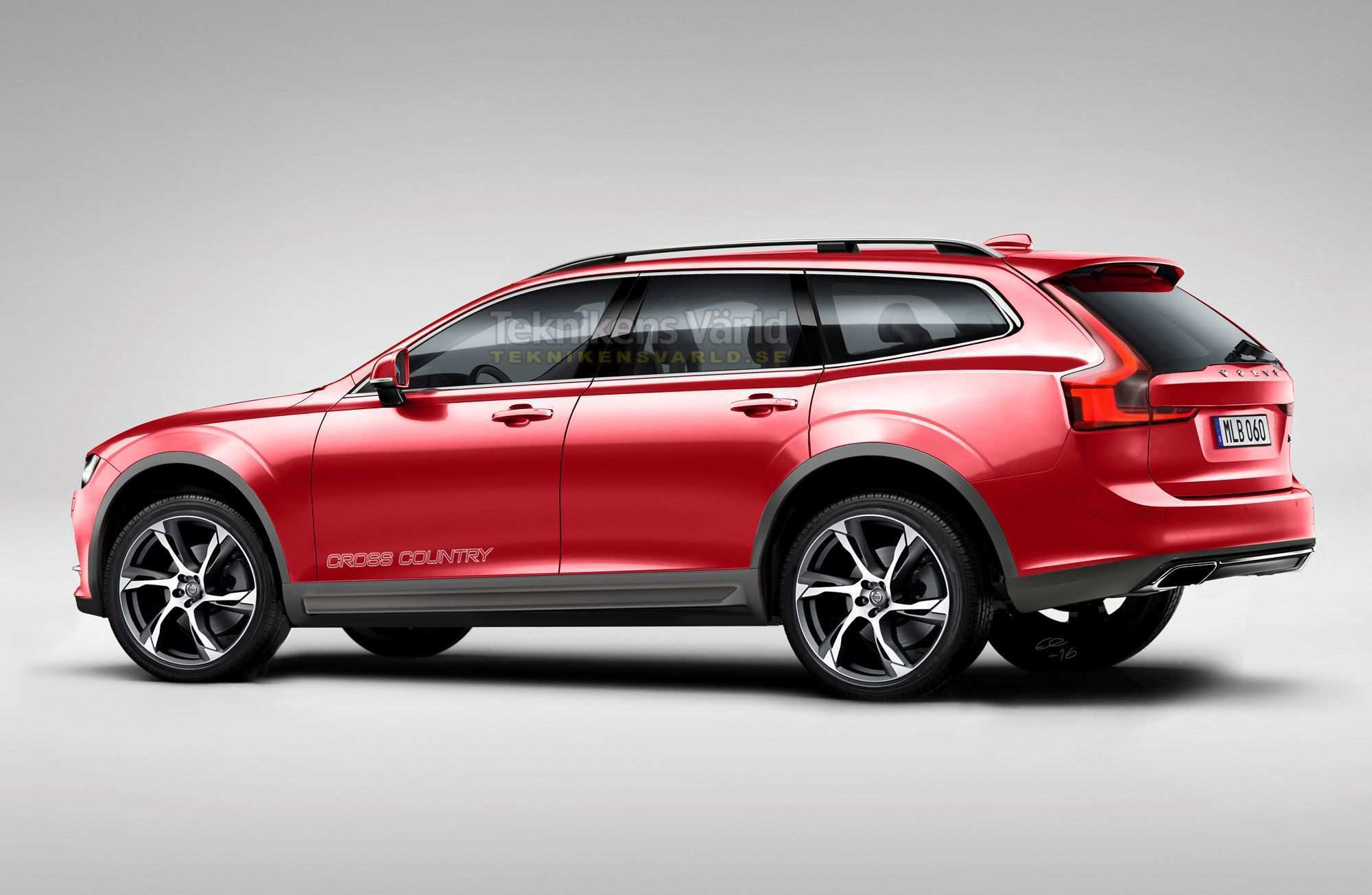 38 New Volvo 2019 V60 Cross Country Wallpaper