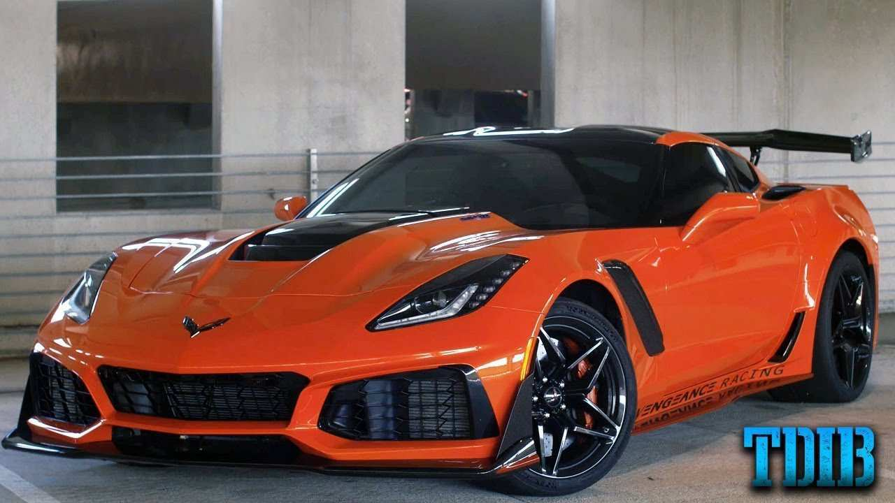 38 The 2019 Corvette ZR1 Exterior And Interior