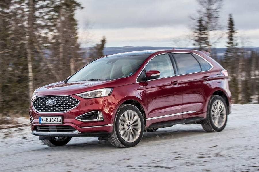 38 The 2019 Ford Edge New Design Exterior