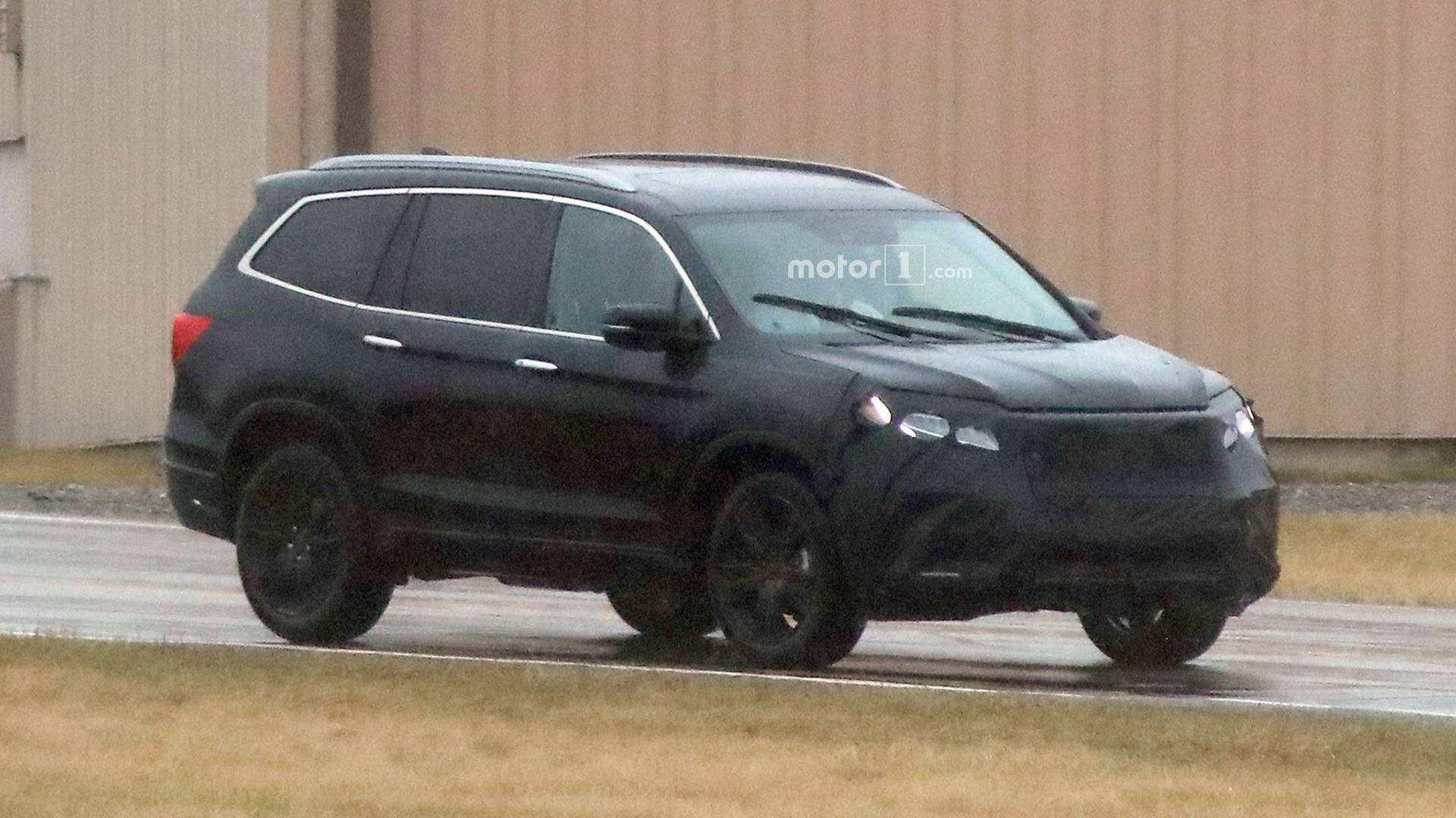 38 The 2019 Honda Pilot Spy Release Date And Concept