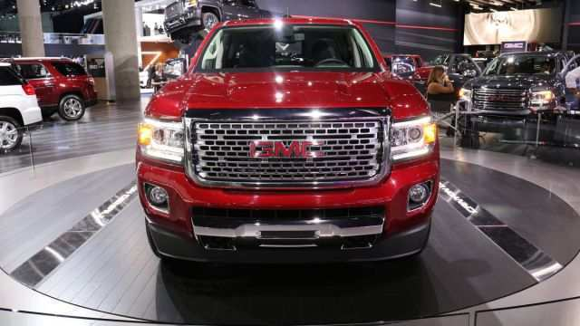 38 The 2020 GMC Canyon Denali Pictures