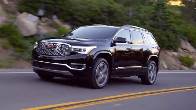 38 The Best 2019 Gmc Acadia Denali Release Date And Concept