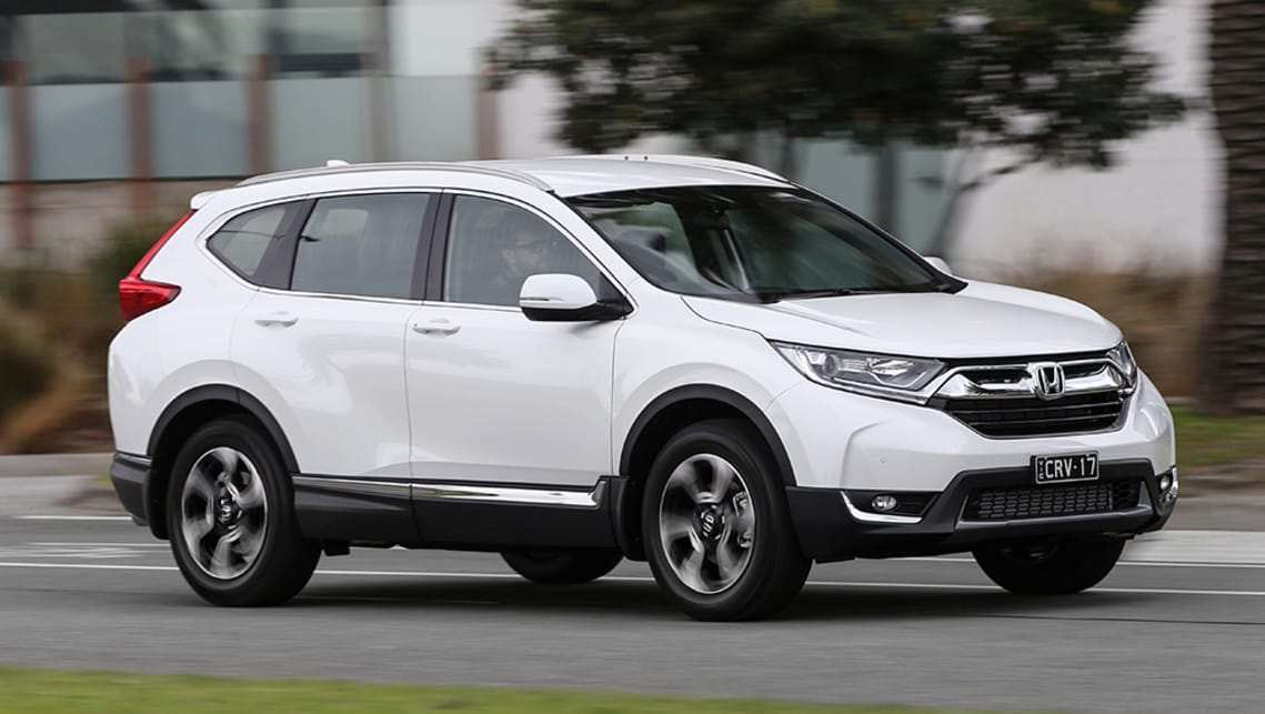 38 The Best 2019 Honda CRV Spy Shoot