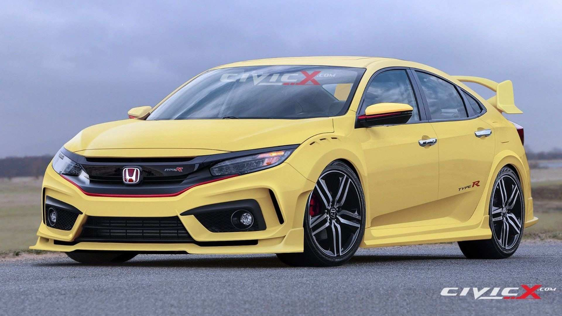 38 The Best 2020 Honda Civic Si Type R Redesign And Concept
