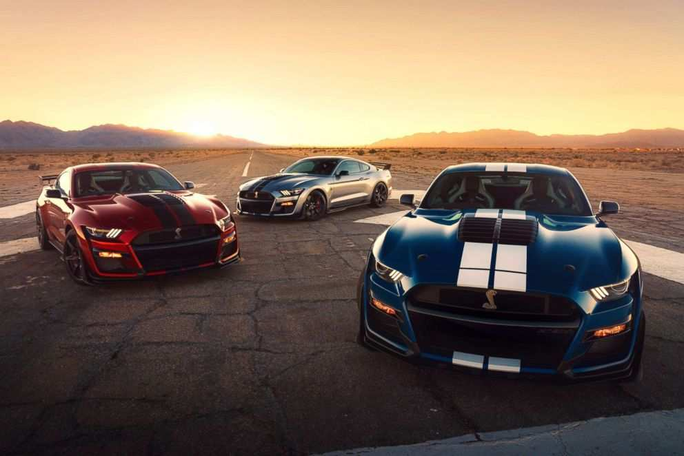 38 The Ford Debuts 2020 Shelby Gt500 Pictures