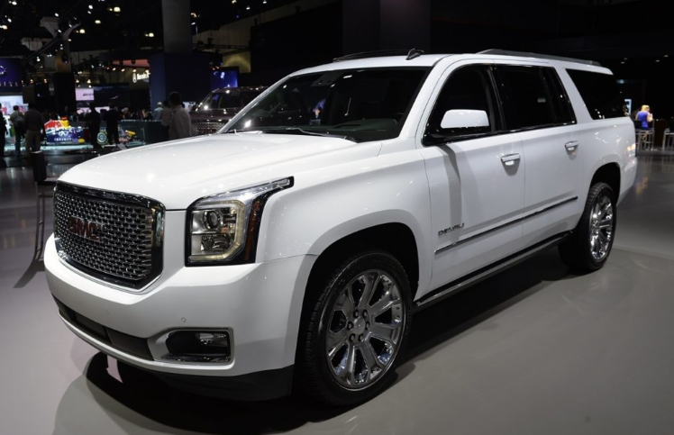 38 The GMC Denali 2020 Colors Spy Shoot