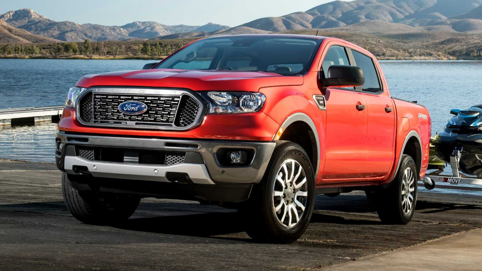39 A 2019 Ford Ranger Speed Test