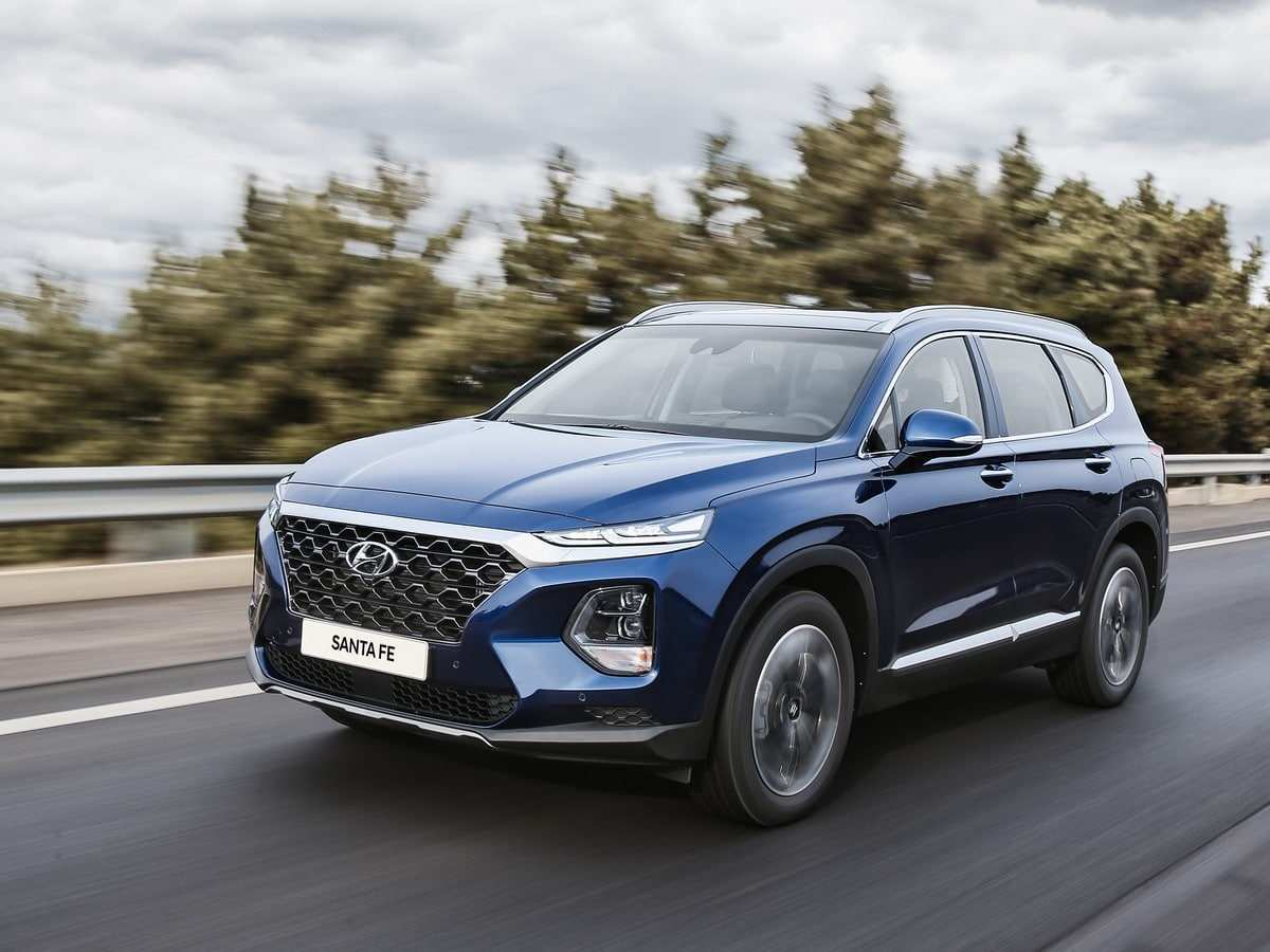 39 A 2019 Hyundai Santa Fe Speed Test