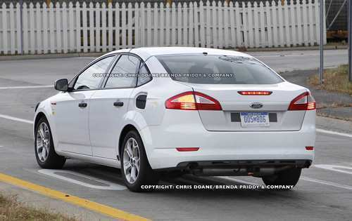 39 A Spy Shots Ford Fusion Pictures