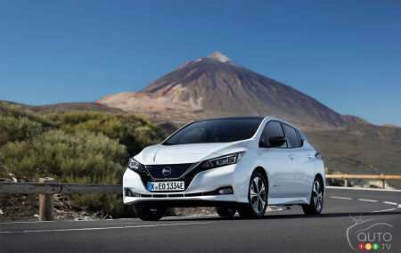 39 All New 2019 Nissan Leaf Review Images
