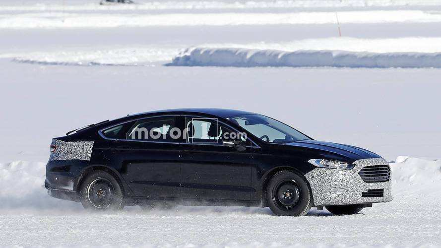 39 Best Spy Shots Ford Fusion First Drive