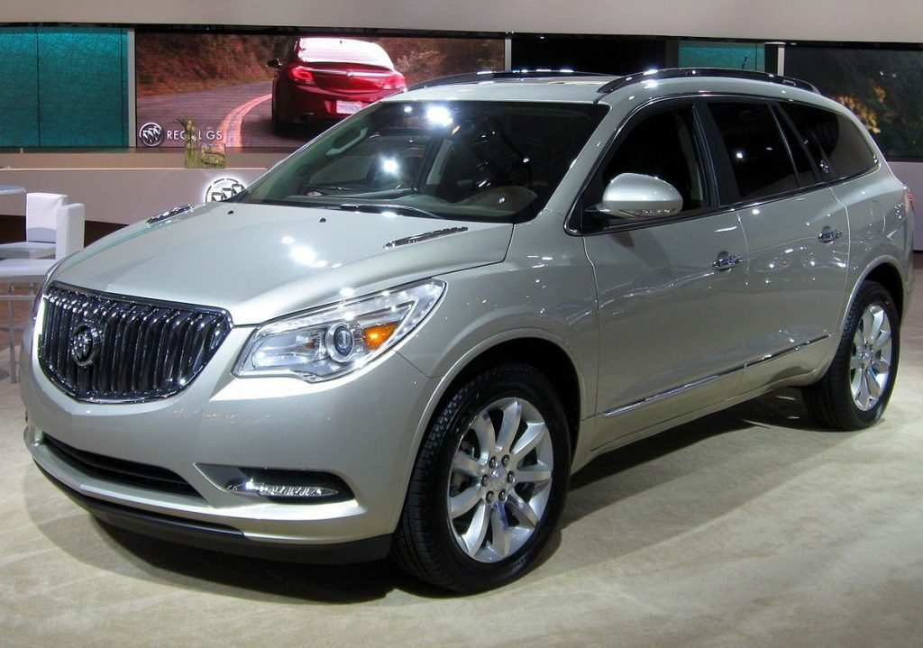 39 New 2019 Buick Enclave Spy Photos Prices