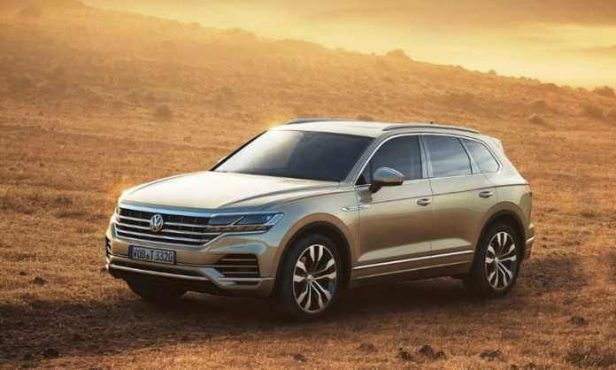 39 New 2020 Volkswagen Touareg Release Date And Concept