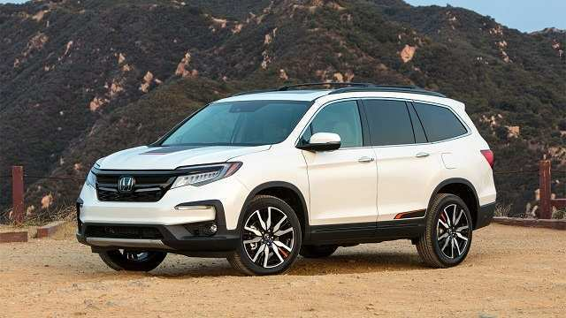 39 New Honda Pilot 2020 Interior Price Design And Review