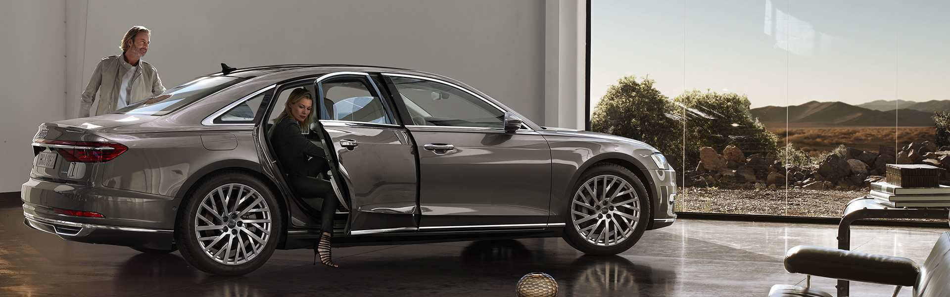 39 The 2020 Audi A8 Engine