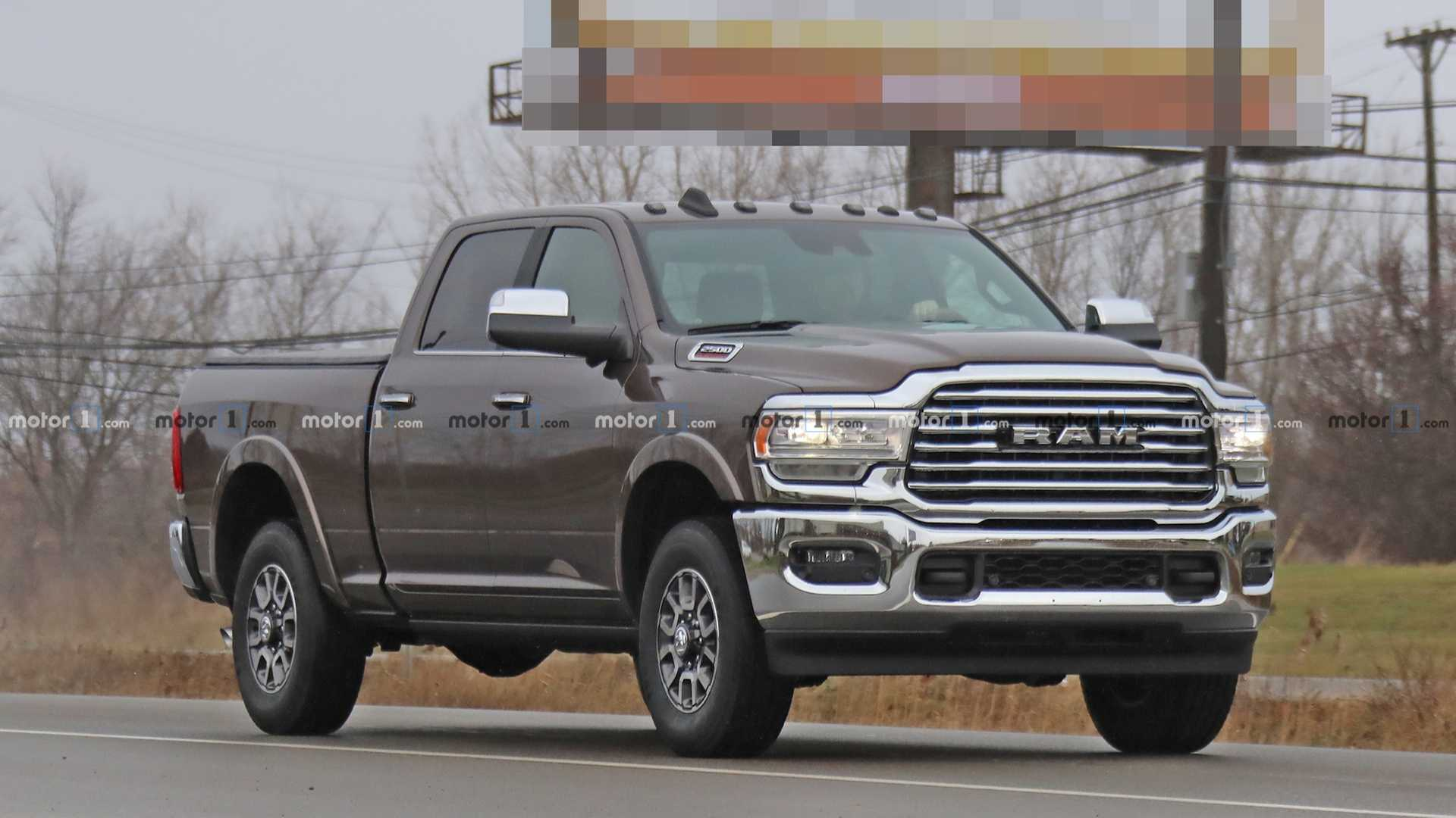 39 The Best 2020 Dodge Ram 3500 Redesign And Concept