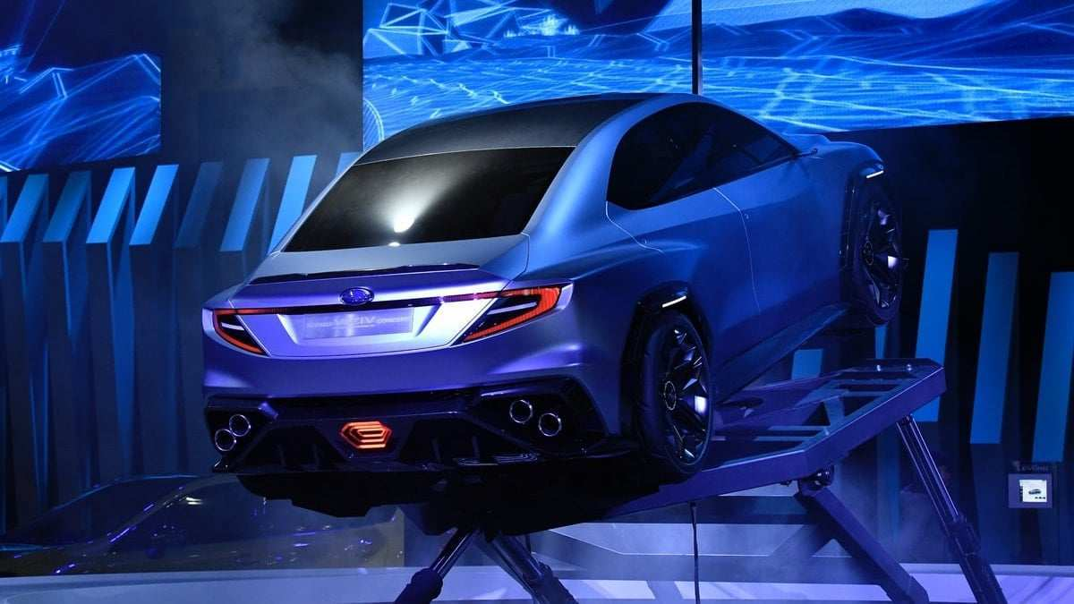 39 The Subaru Sti 2020 Rumors Concept