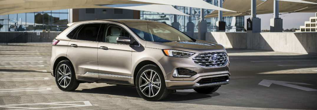 40 A 2019 Ford Edge New Design Price Design And Review
