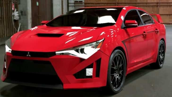 40 A 2019 Mitsubishi Evo Concept And Review