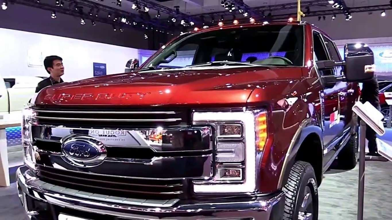 40 A 2019 Spy Shots Ford F350 Diesel Redesign And Review