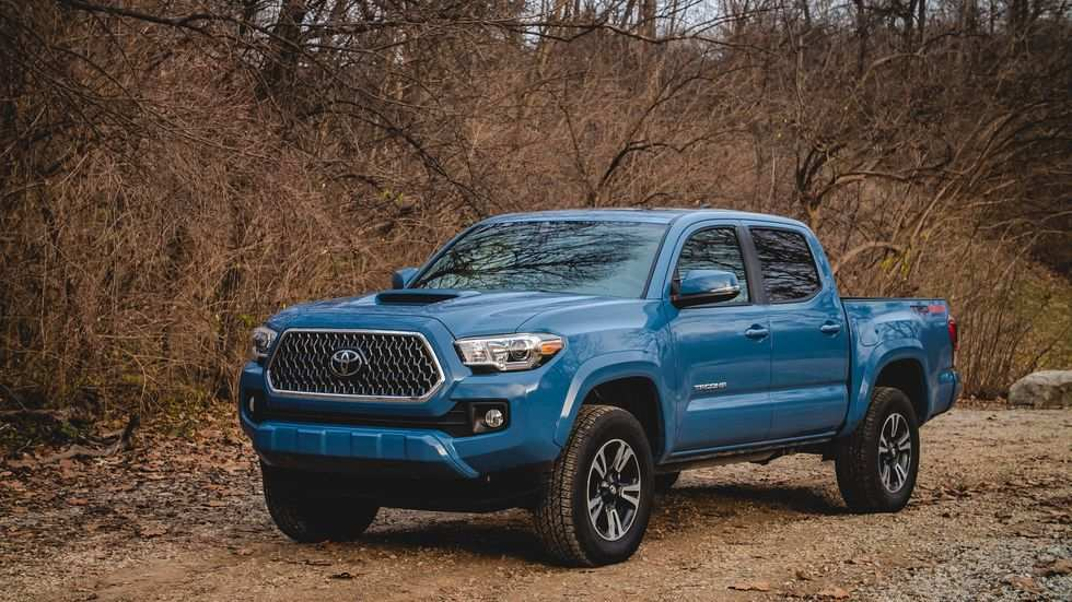 40 A 2019 Toyota Tacoma Speed Test