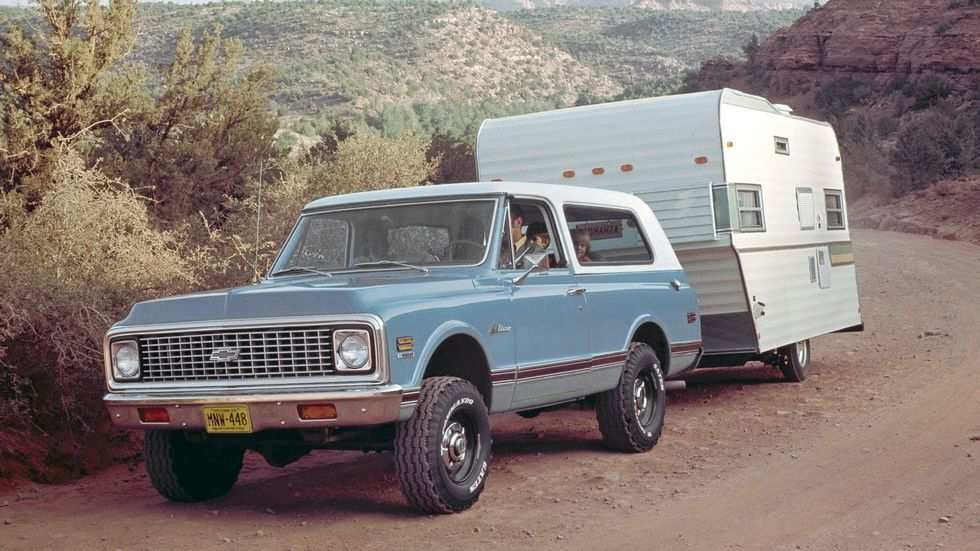 40 A 2020 Chevy Blazer K 5 Spesification